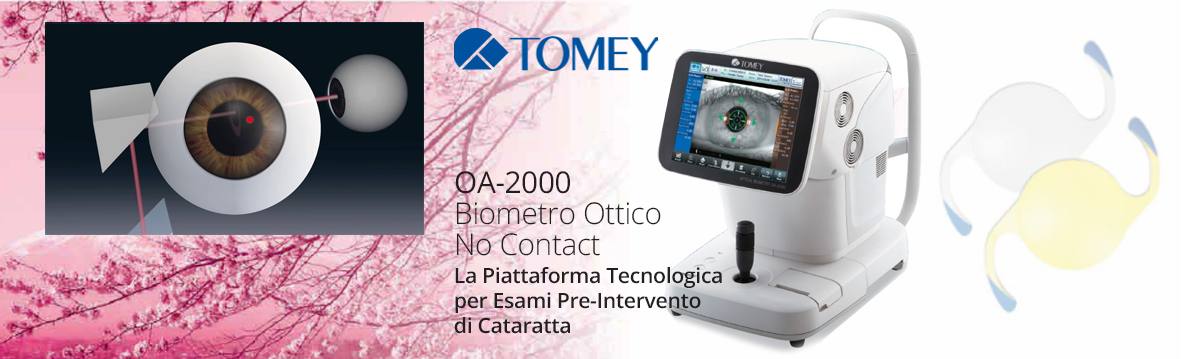 OA-2000 Biometro Ottico No Contact