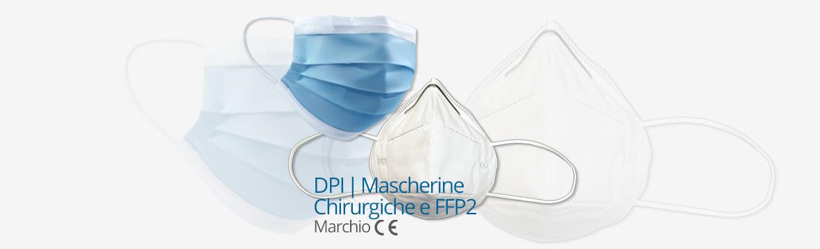 DPI | Mascherine  Chirurgiche e FPP2
