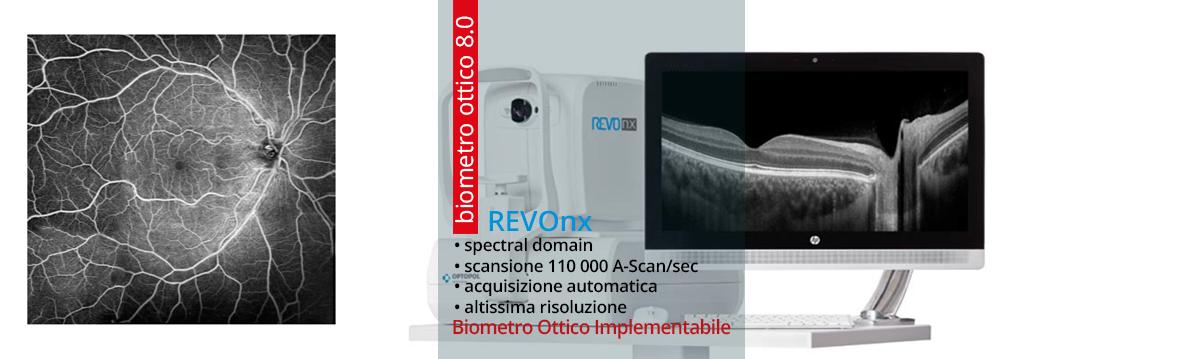 REVOnx l'OCT più veloce al mondo con Biometro 8.0